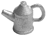 cast oil can